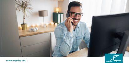 تلفن ثابت ابری جایگزینی برای دفترکار مجازی
